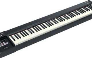 Синтезатор на клавиатуре