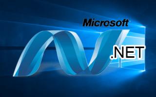 NET Framework 3.5 для Windows 10