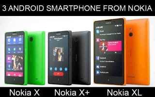 Какие характеристики у телефонов Nokia X, Nokia X+ и Nokia XL ?!